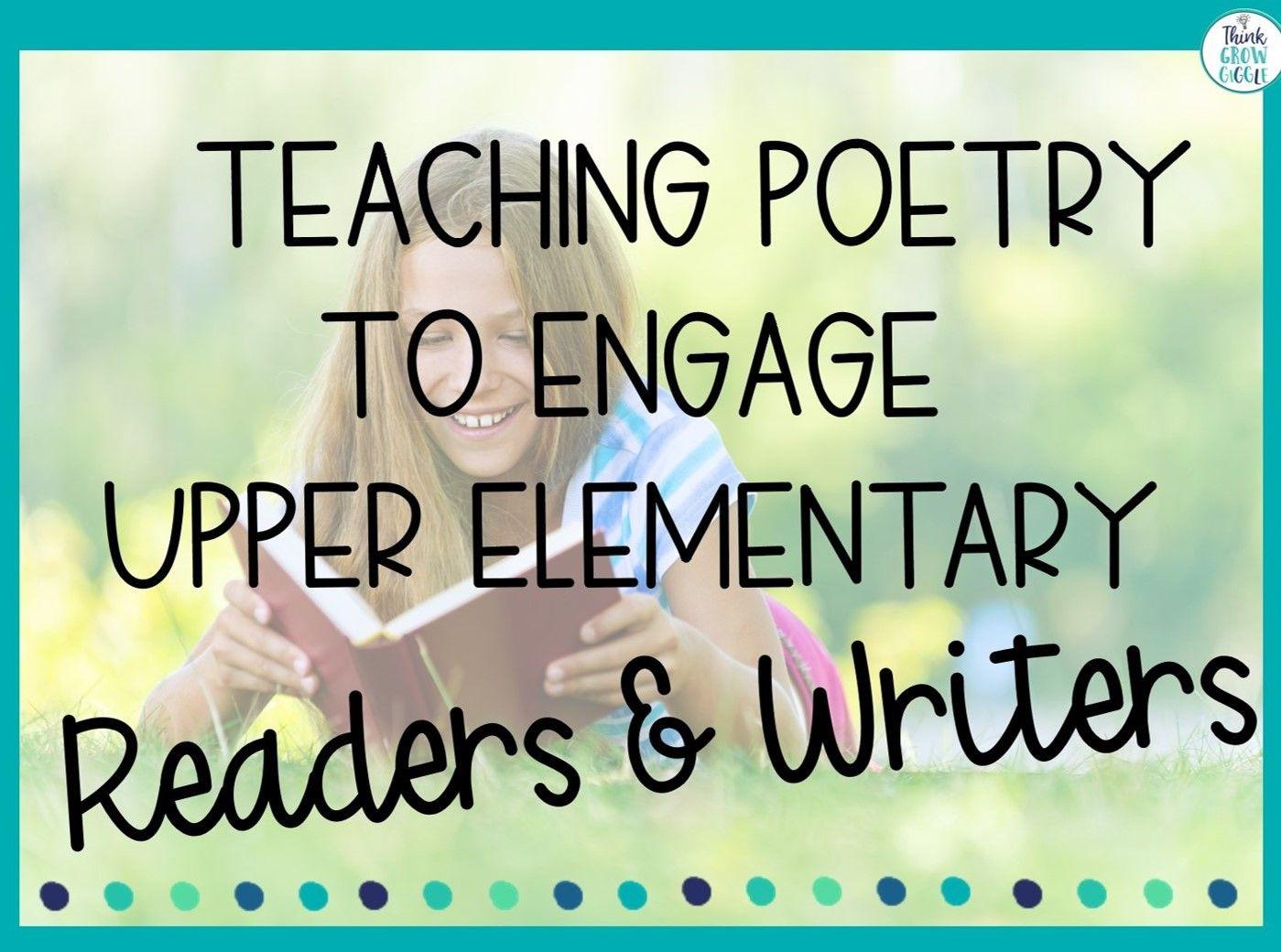 Teaching Poetry Strategies