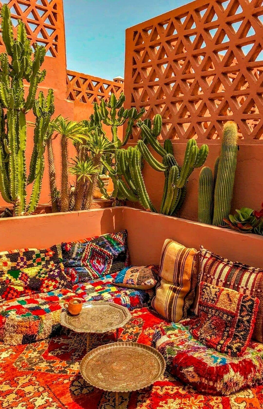 Pin By Miriam Lozada Herran On Morocco Small Balcony Decor Backyard Decor Balcony Decor