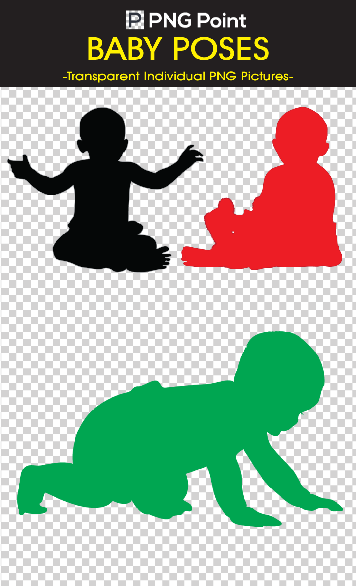 Silhouettes Images, Icons and Clip arts of Different poses