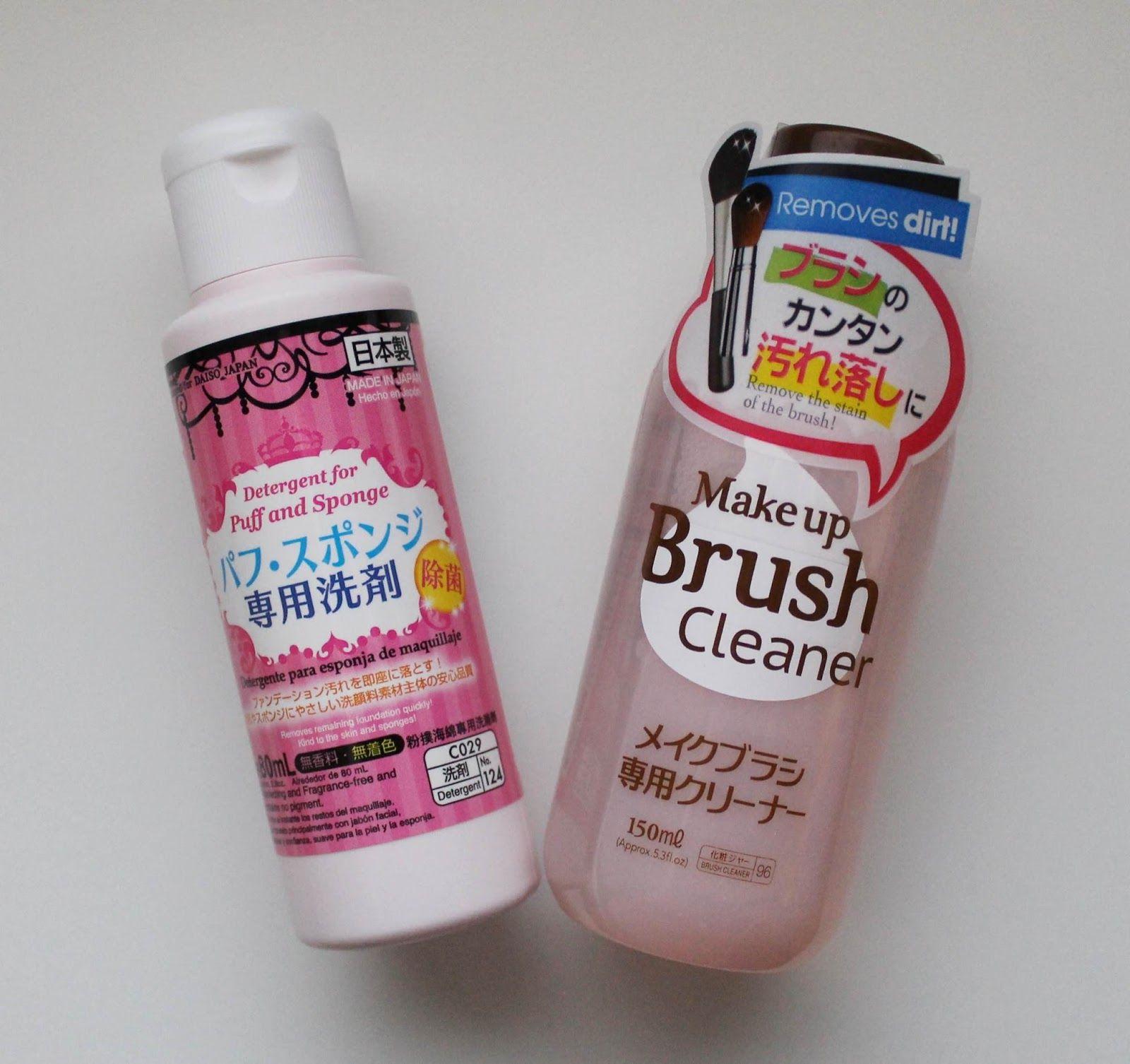 Battle Of The Daiso Brush Cleaners Daiso Brush Cleaner Brush Cleanser