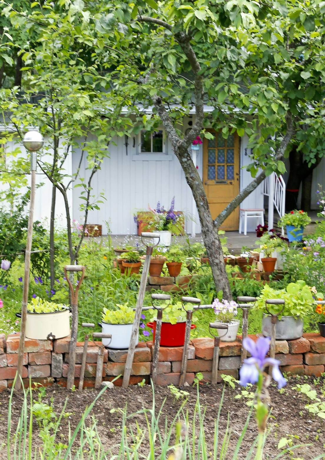 7 k ytt kelpoista ideaa kierr tystiilille meill kotona for Figuras jardin baratas