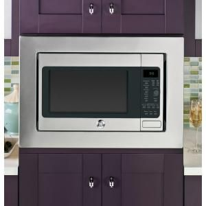 Ge Profile 1 5 Cu Ft Countertop Convection Microwave In Stainless Steel Built In Capable With Sensor Cooking Peb9159sfss Microwave Convection Oven Built In