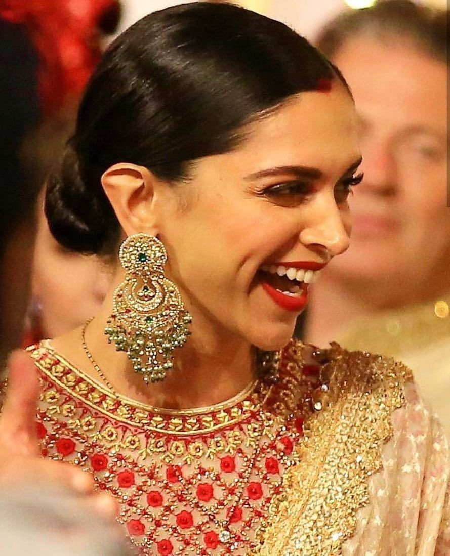 She Can Kick Me And I D Thank Her Deepikapadukone Deepika Padukone Deepika Padukone Style Indian Jewelry Earrings