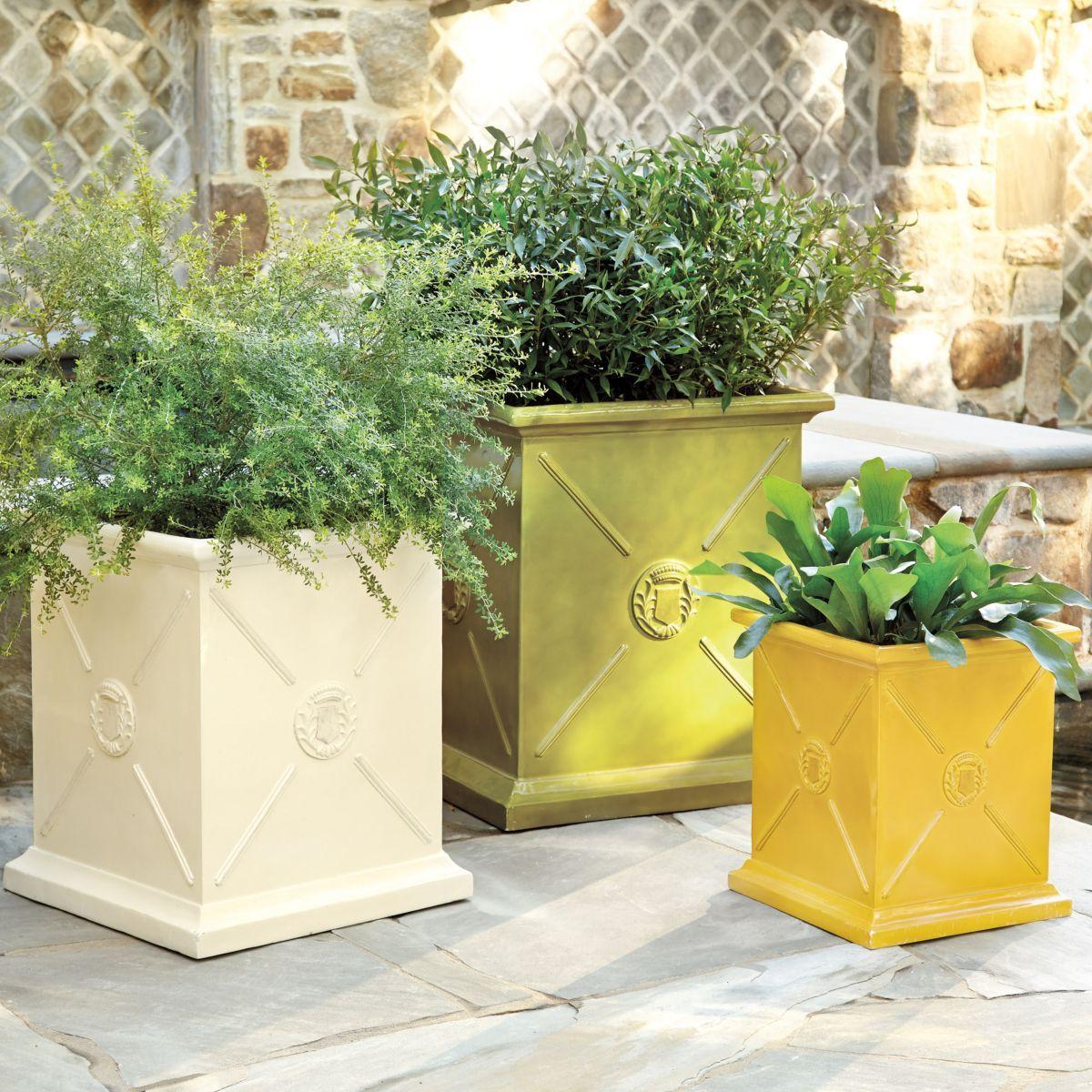 Ballard Designs Colorful Planter