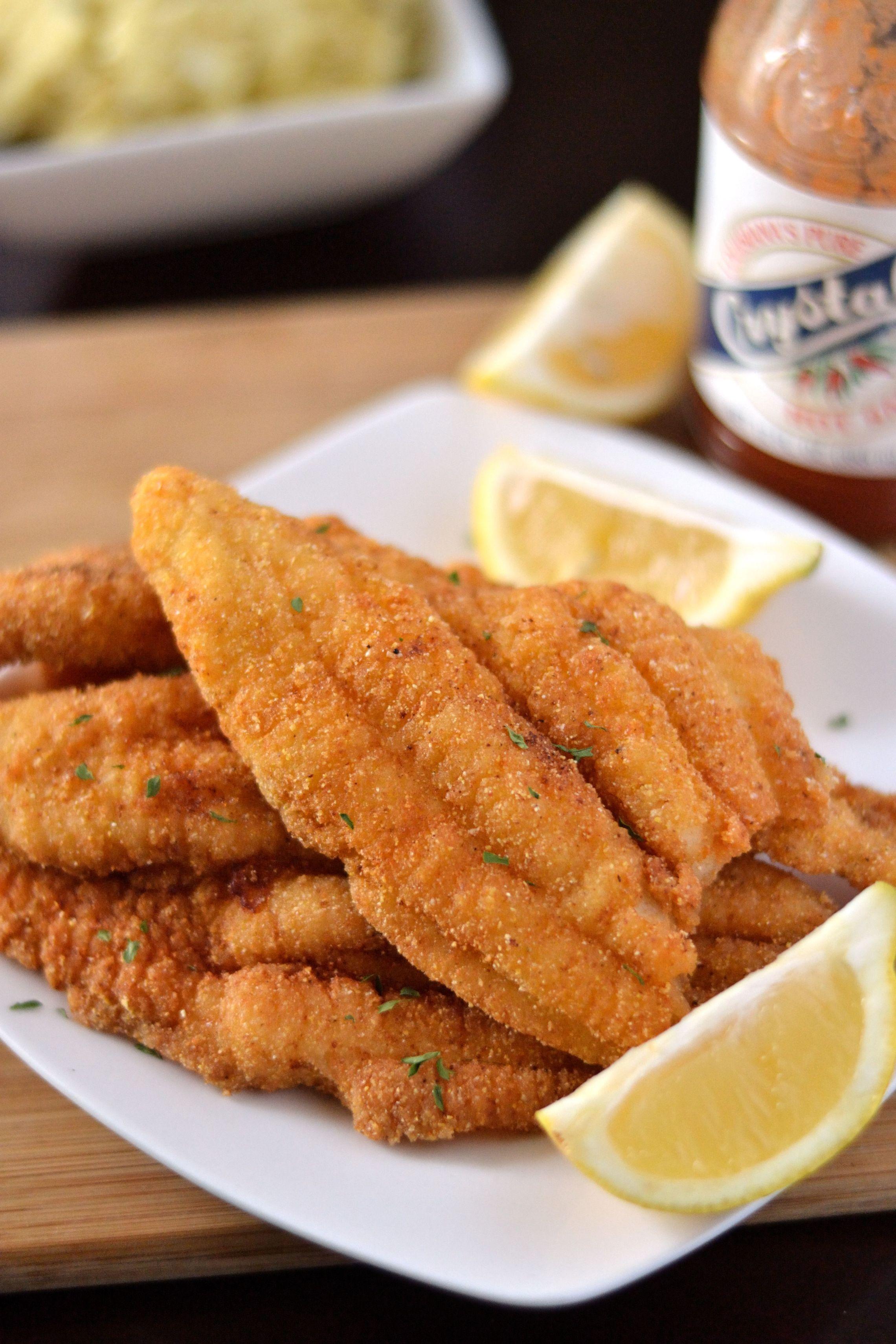 Southern Fried Catfish Recipe Catfish recipes, Fried