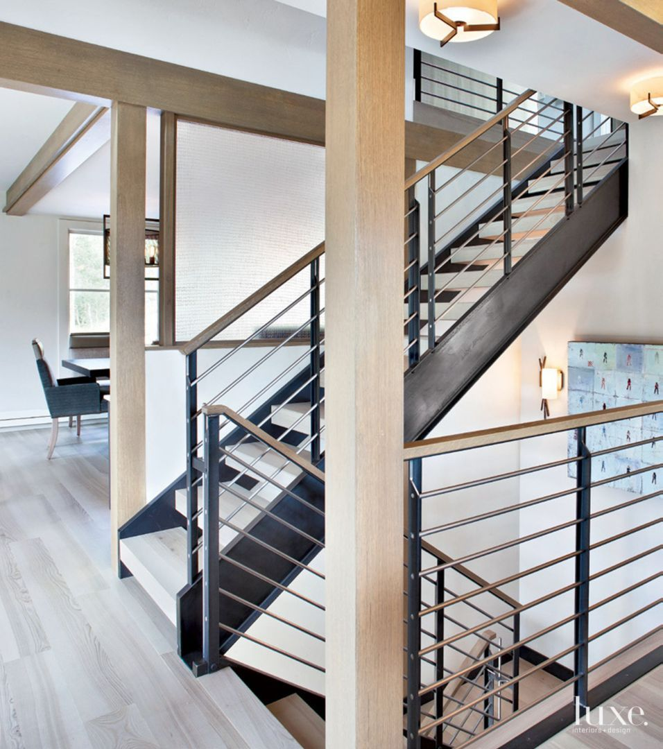 Modern Interior Staircase Materials Photo: Gold List 2020: Designs By Sundown