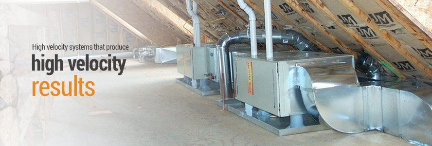 High Velocity Heating Cooling Systems Heating Cooling System