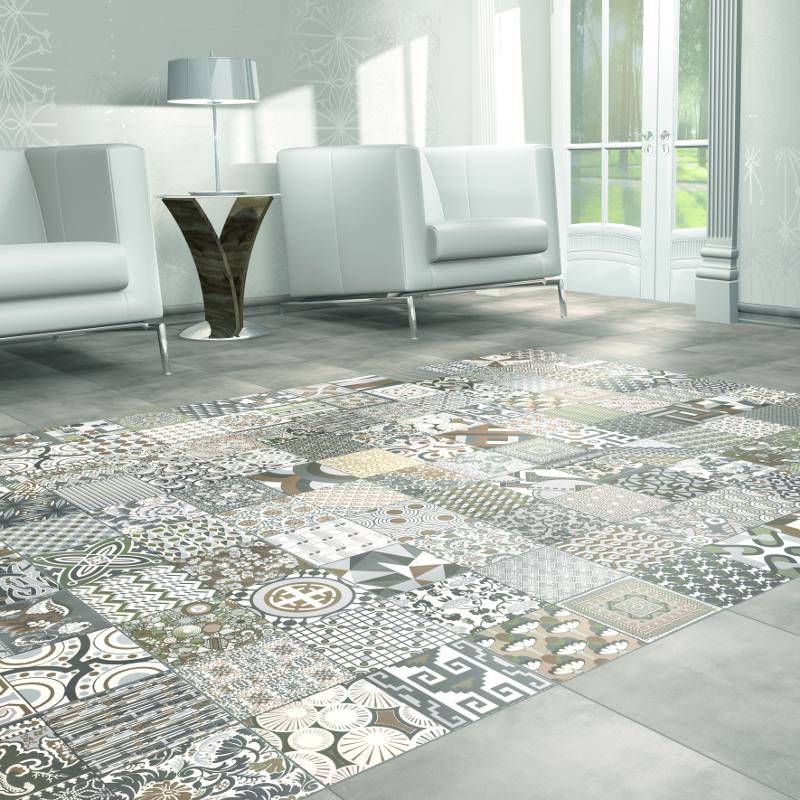 Hottest Trend In Home Interior Patchwork Tiles - Beauty With
