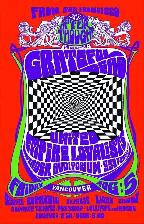 Grateful Dead in Concert, 1966 Prints - Bob Masse