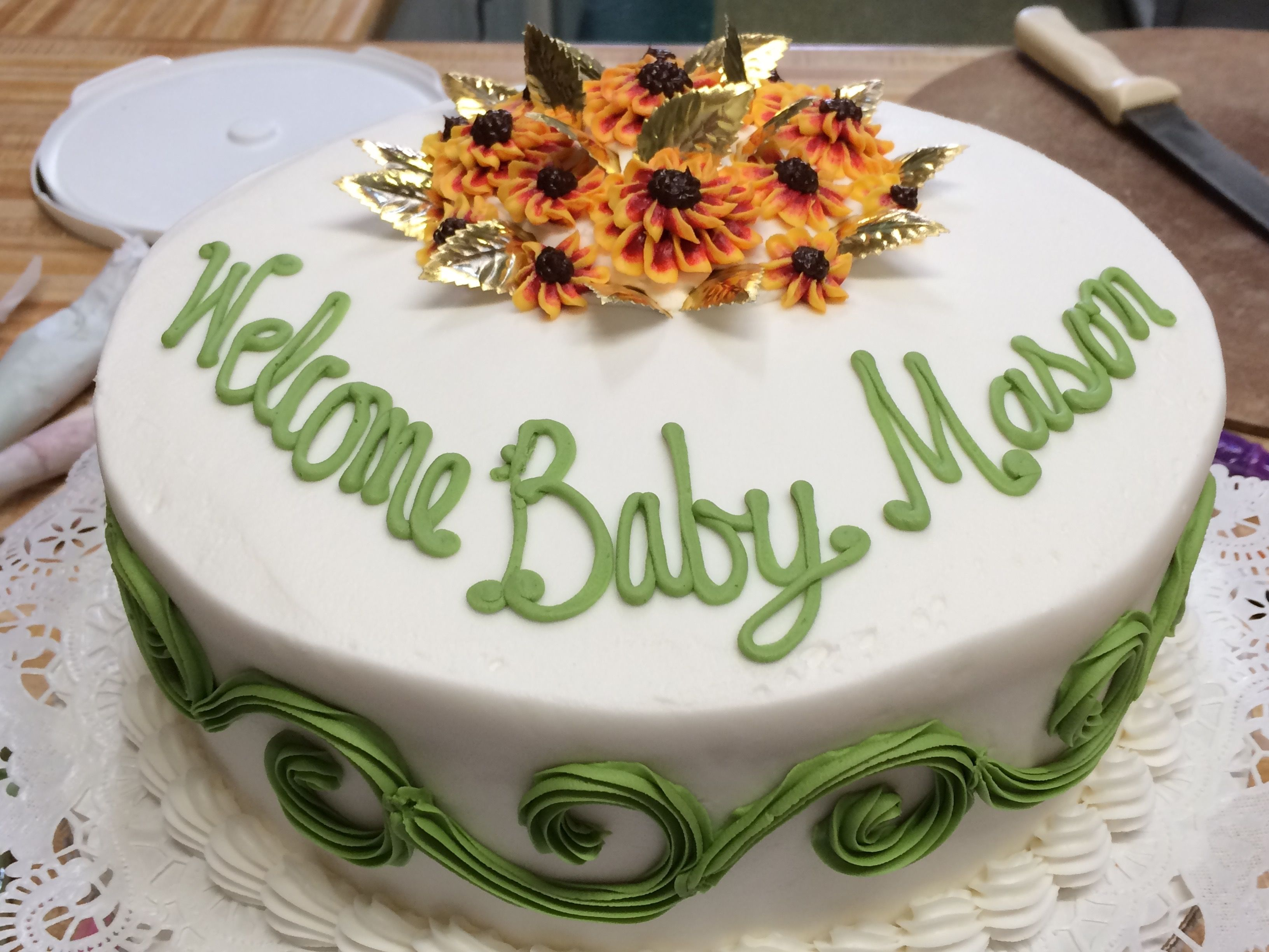 Baby Shower Cake, Richmond VA, Westhampton Pastry Shop ...