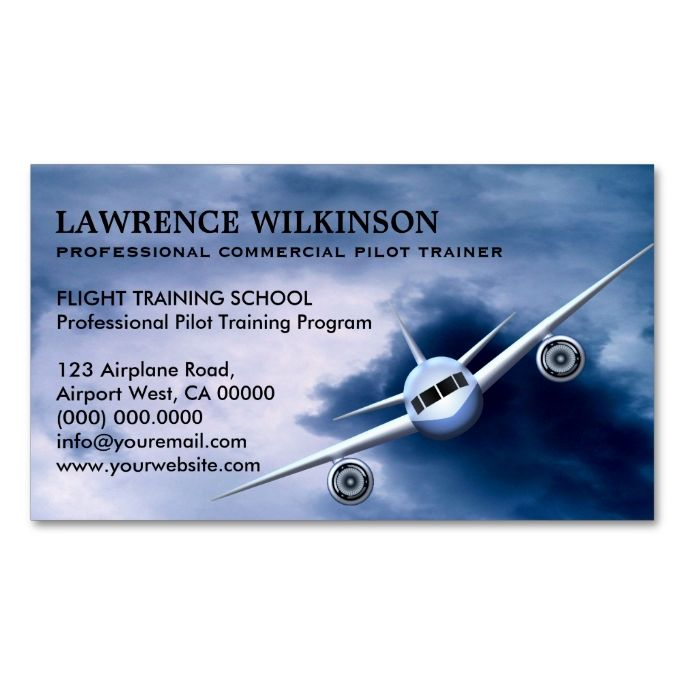Commercial plane in sky aviation business cards commercial plane commercial plane in sky aviation business cards colourmoves