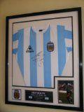 DIEGO MARADONA OF ARGENTINA SIGNED SHIRT 1986 WORLD CUP WINNERS