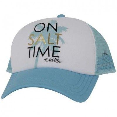 New Salt Life Salty Paddles Womens Snapback Cap Hat