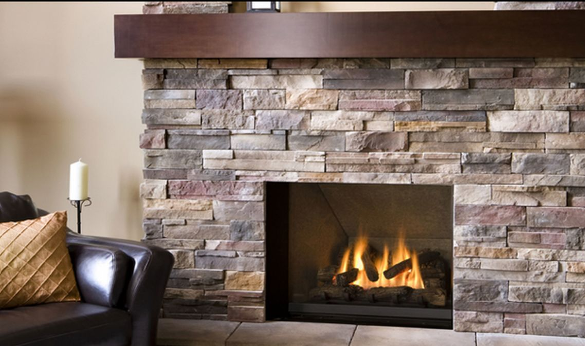 Electric Fireplaces Inserts Small Square With Creamy Stones Gas