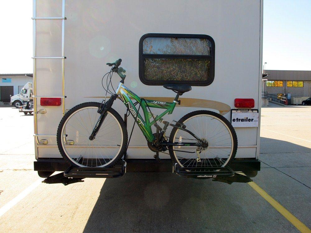 Rv Bumper 2 Bike Rack Trailer Trash Bike Rack Aliner