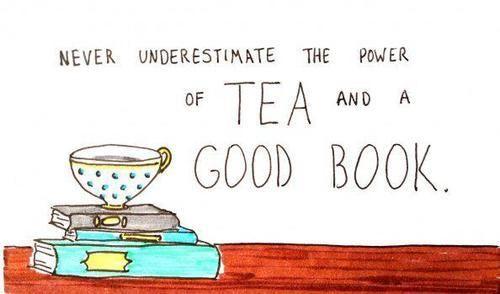 Afbeeldingsresultaat voor books and tea
