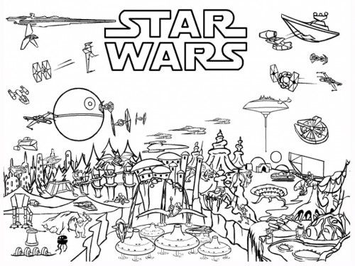 Star Wars Coloring Pages Including Main Characters coloring pages - best of star wars coloring pages the force awakens