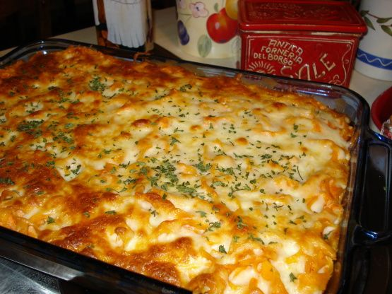 Pasta and meatball casserole recipe