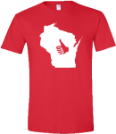 The original Thumbs Up Wisconsin t-shirt.  Designed & printed by Silly Toast.  Get yours for only $15!