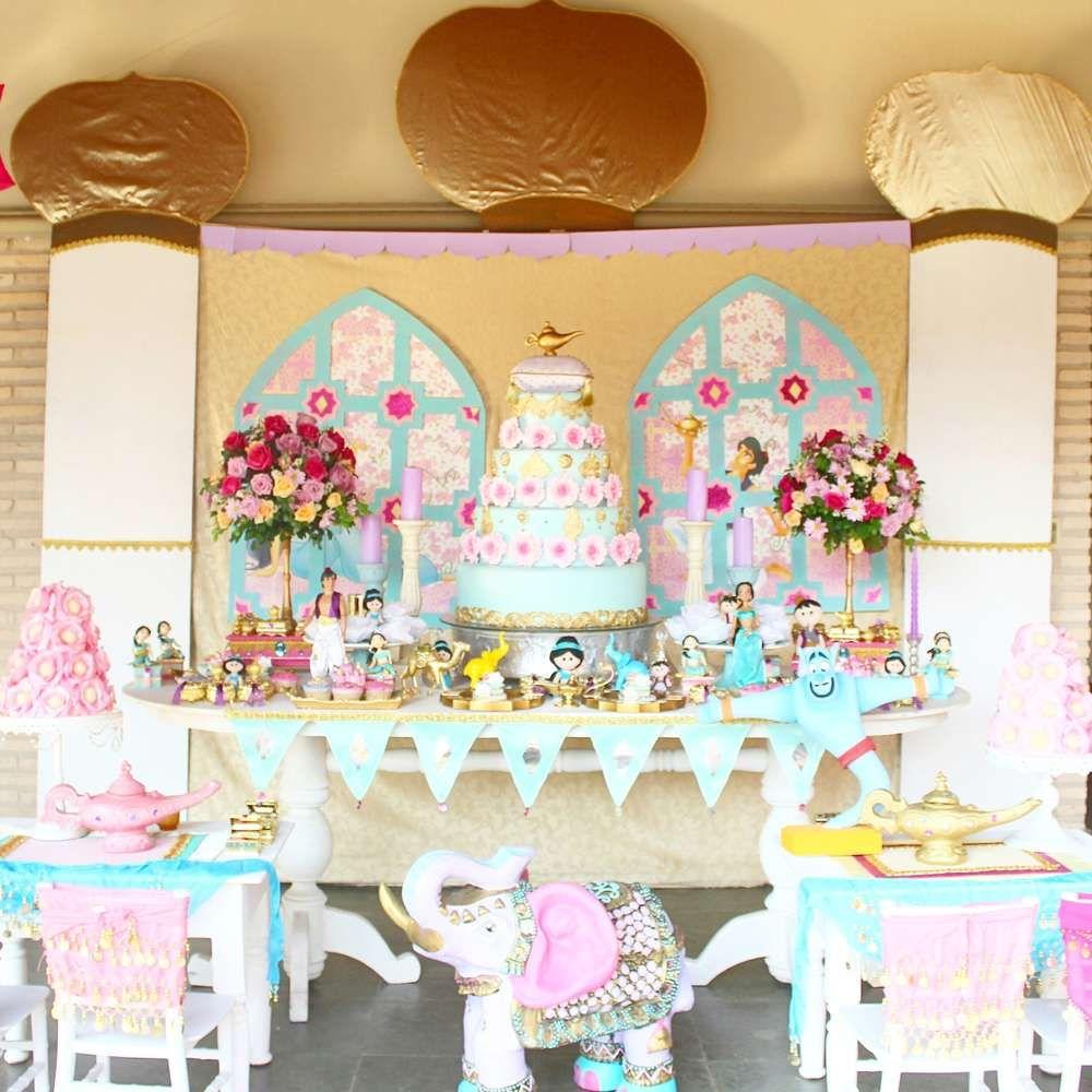 Aladdin And Jasmine Birthday Party Ideas
