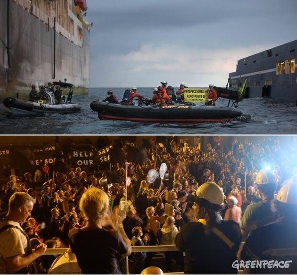 Canarie, attacco dell'esercito spagnolo a Greenpeace