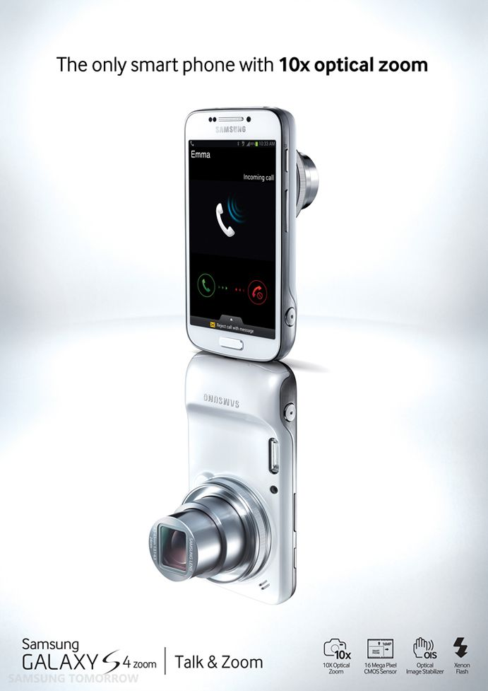 Samsung GALAXY S4 ZOOM - DIVAS AND DORKS TECH