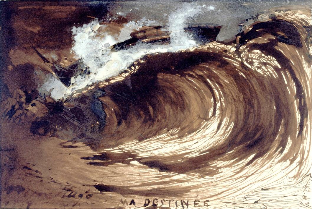 "hideback: ""Victor Hugo (French, 1802-1885) My Fate, 1867 More Victor Hugo """