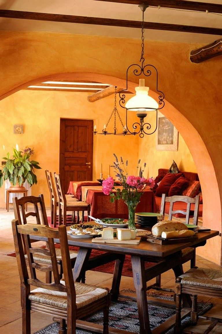 50+ Handsome And Cool Warm Decorating Ideas | Mexican home ...