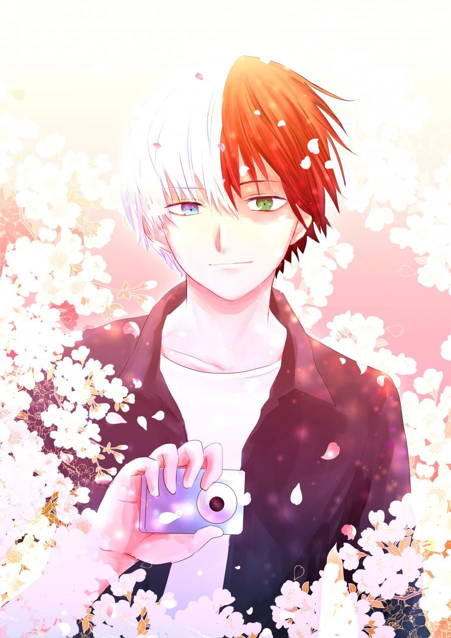 Boku no Hero Academia Todoroki Shouto Pat Pinterest