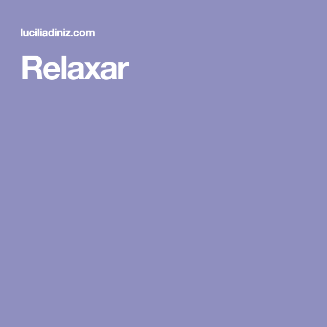 Relaxar