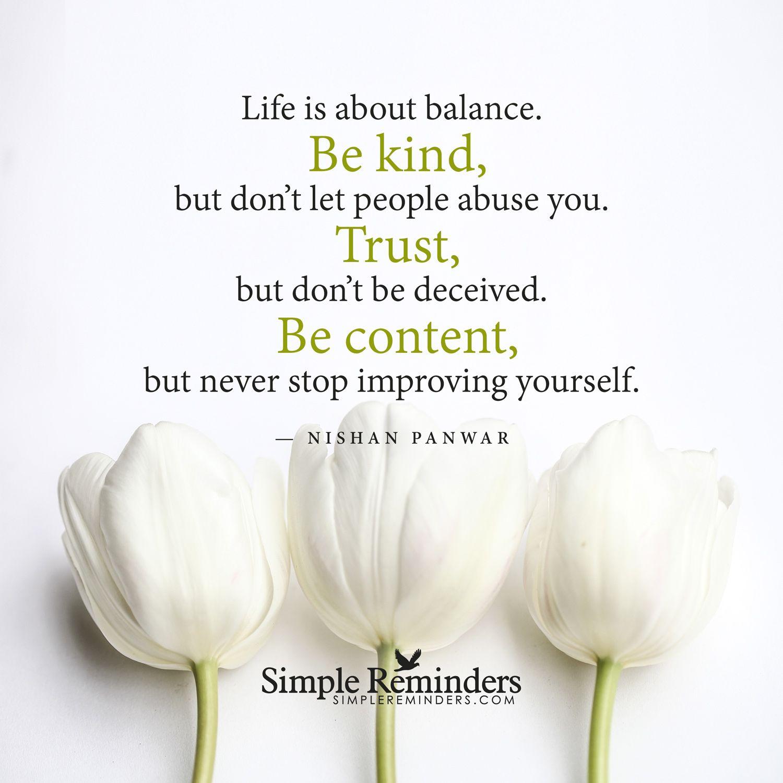Life is about balance by Nishan Panwar   Success Secrets ...
