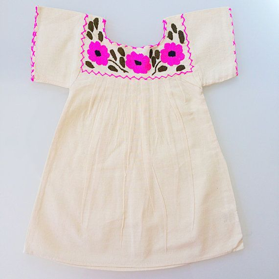 Hey, I found this really awesome Etsy listing at https://www.etsy.com/listing/231718732/mexican-embroidered-dress