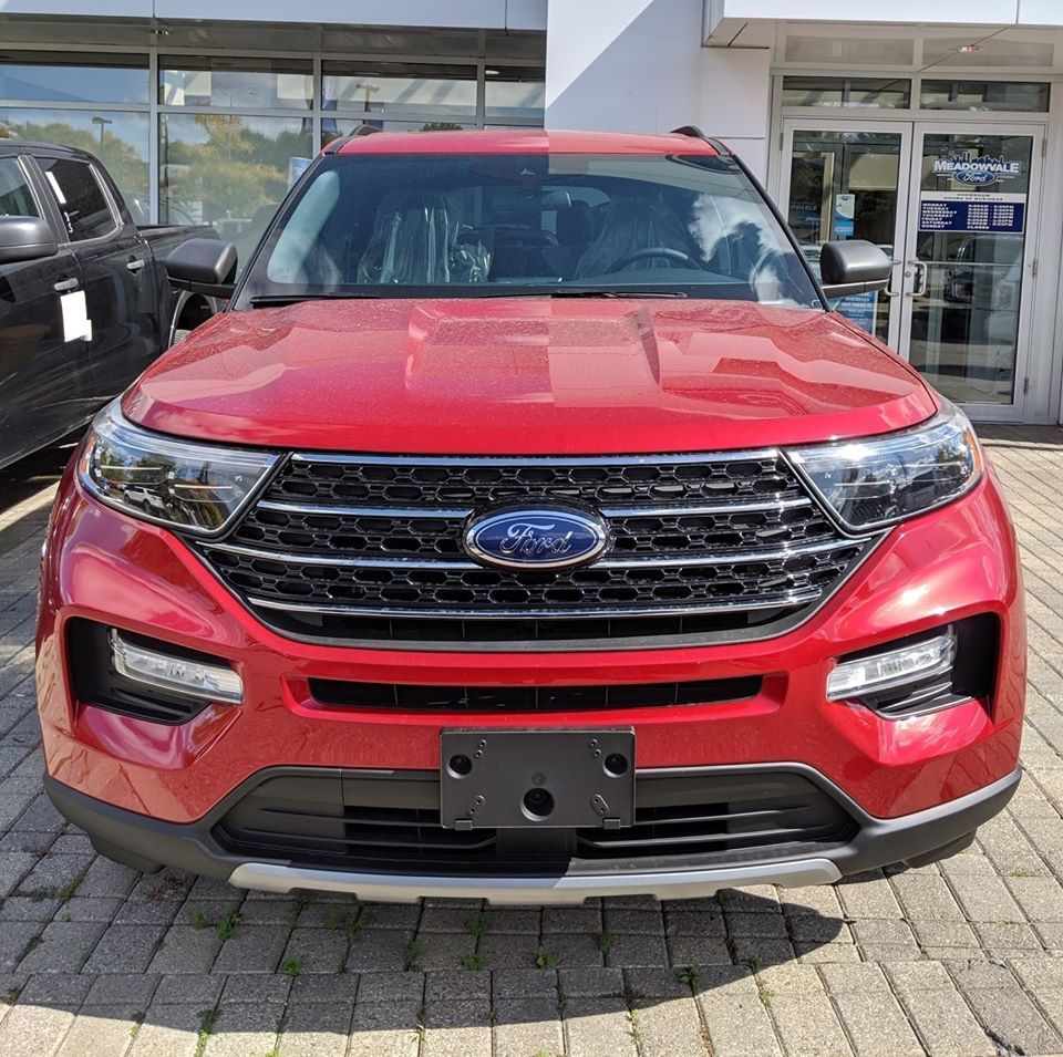 The All New 2020 Ford Explorer Xlt In Mississauga Canada Ford Explorer Accessories Ford Explorer Xlt 2020 Ford Explorer