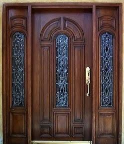 Fotos puertas madera 1 puerta ppal pinterest for Puertas principales de madera rusticas