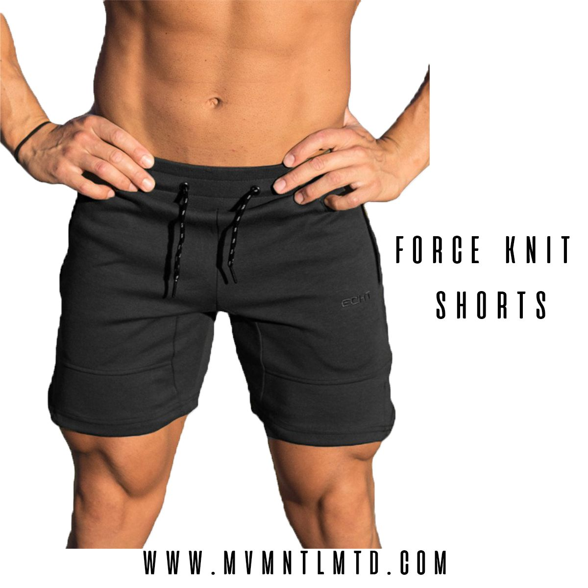 f47a285075 Echt force knit shorts are Ultra-lightweight, moisture transporting and  minimalist in design. The perfect shorts for the active lifestyle.