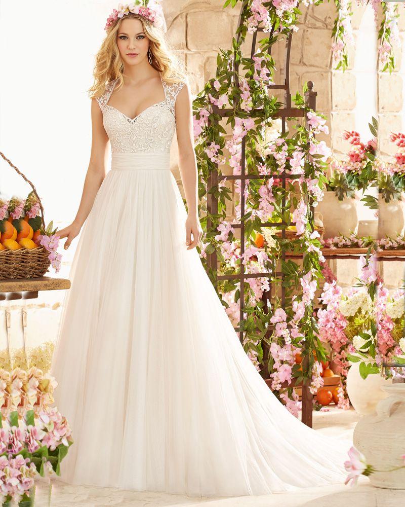 100 dollar wedding dress  Elegant Tulle VNeck Mermaid Wedding Dress Beading Lace Appliques