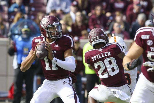 Texas A&M vs. South Carolina 11/16/19 College Football