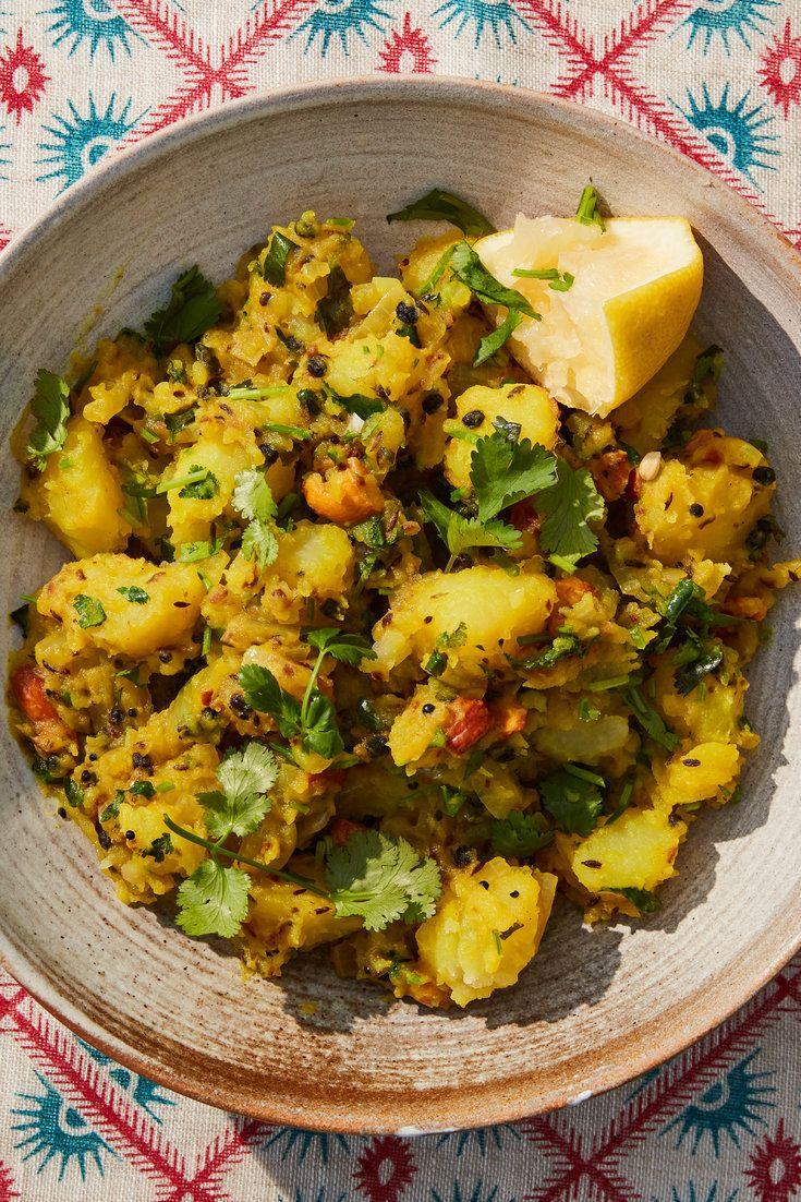 Aloo Masala Spiced Potatoes Recipe In 2020 Recipes