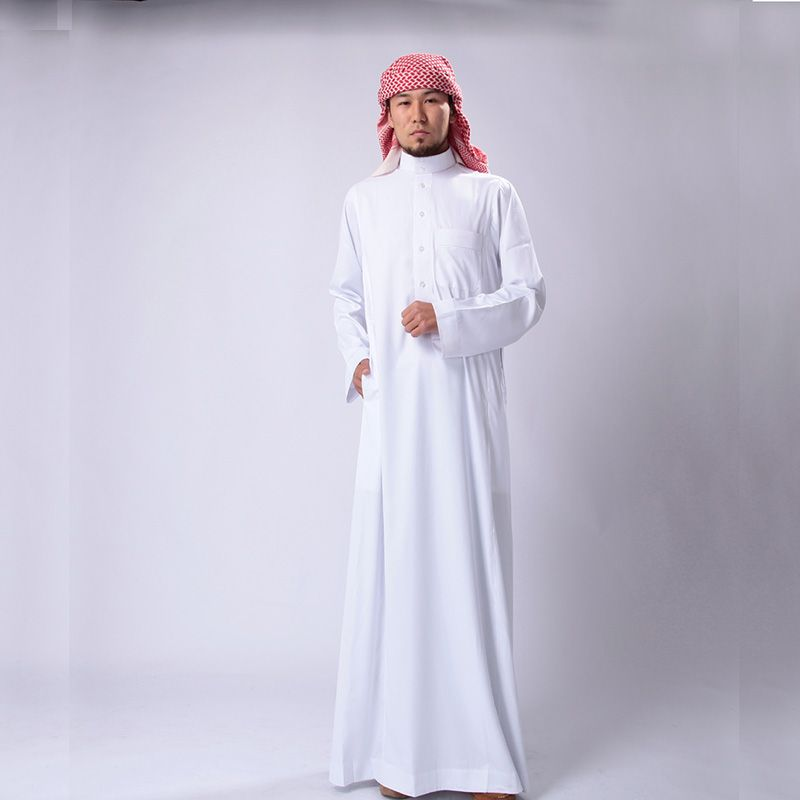 6fe01b41c8ce Traditional Thobe Dress for Saudi Arab Muslim Men   Price   63.12   FREE  Shipping     hijabfashion