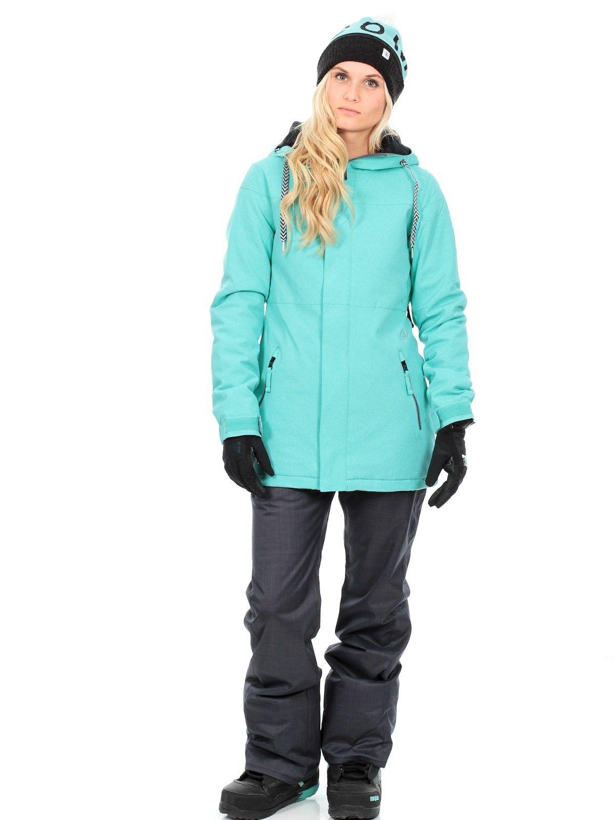 Veste snowboard femme longue