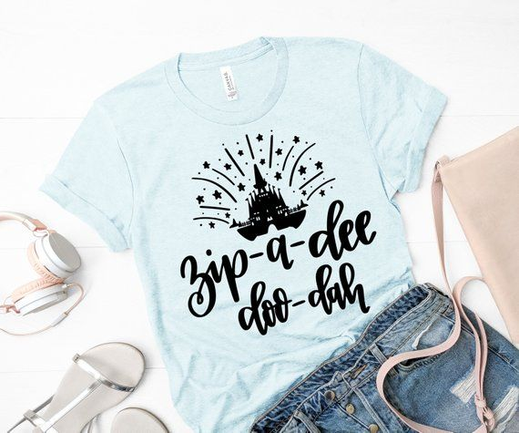 Disney shirt for women, Disney Tee, Splash mountain shirt, Zip a dee
