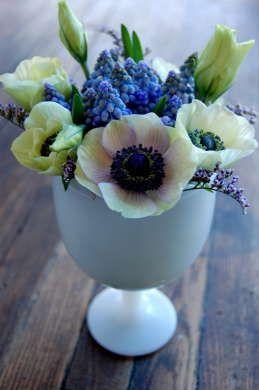 Wedding Ferns Anemones Photo Of Flowers Coriander Girl Toronto Wedding And Parties Sweet Violets Flower Creation Flower Arrangements