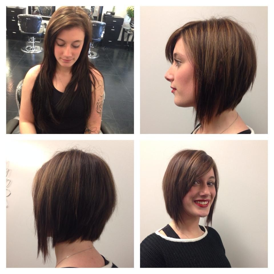 Before And After Long To Short Hair Done By Kevay Salon Haircut