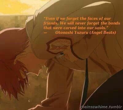 Love this quote so much Otonashi Yuzuru ~ Angel Beats ~ omg T_T