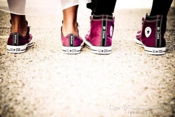 Bubbly Bride Storytelling By Shoes At Your Wedding Converse All StarConverse