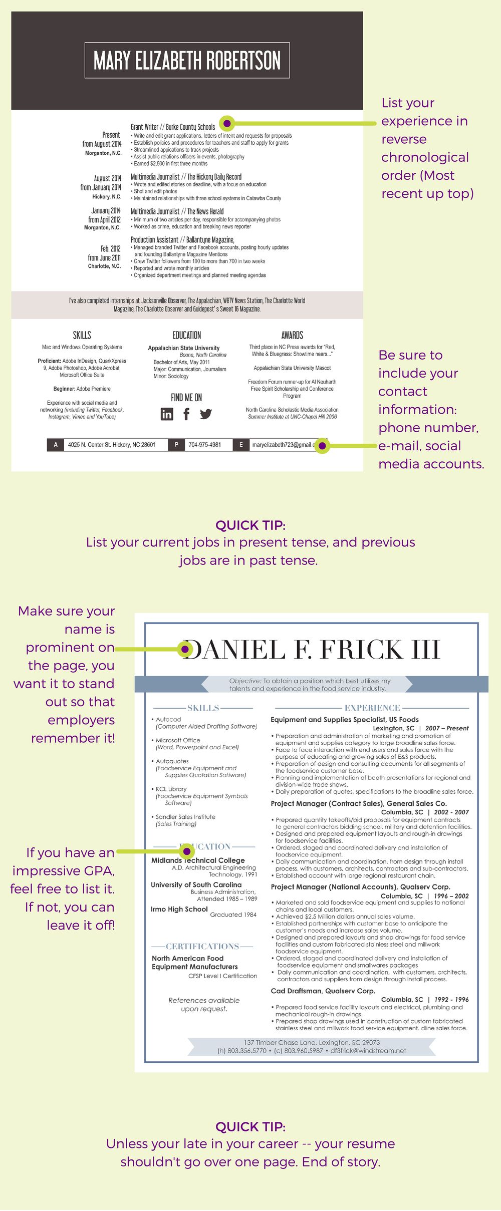 A beginners guide to finding a job part 2 resumes