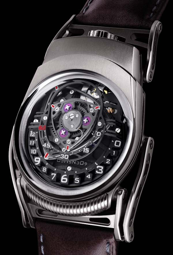 C3H5N3O9 Experiment ZR012 watch. Car fans should recognize what influenced the dial.
