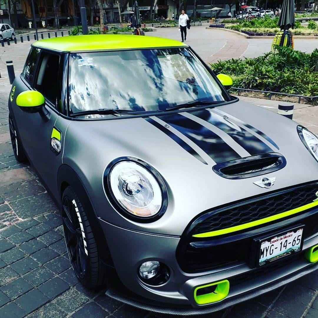 Beautifull Mini Cooper S At Minifanpanama Green Grey Mini