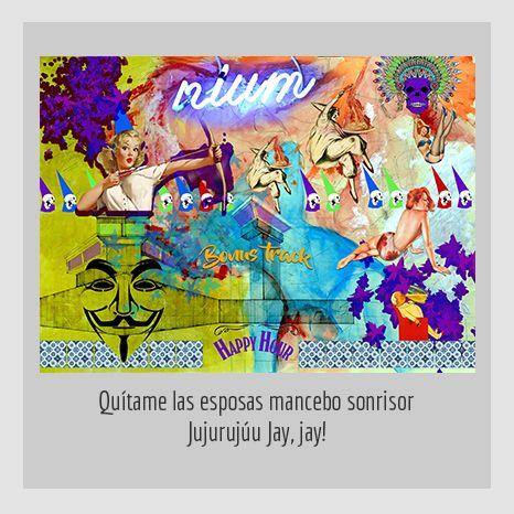 QUÍTAME LAS ESPOSAS MAMCEBO SONRISOR JUJURUJÚU JAY, JAY! YENY CASANUEVA Y ALEJANDRO GONZÁLEZ. PROYECTO PROCESUAL ART.