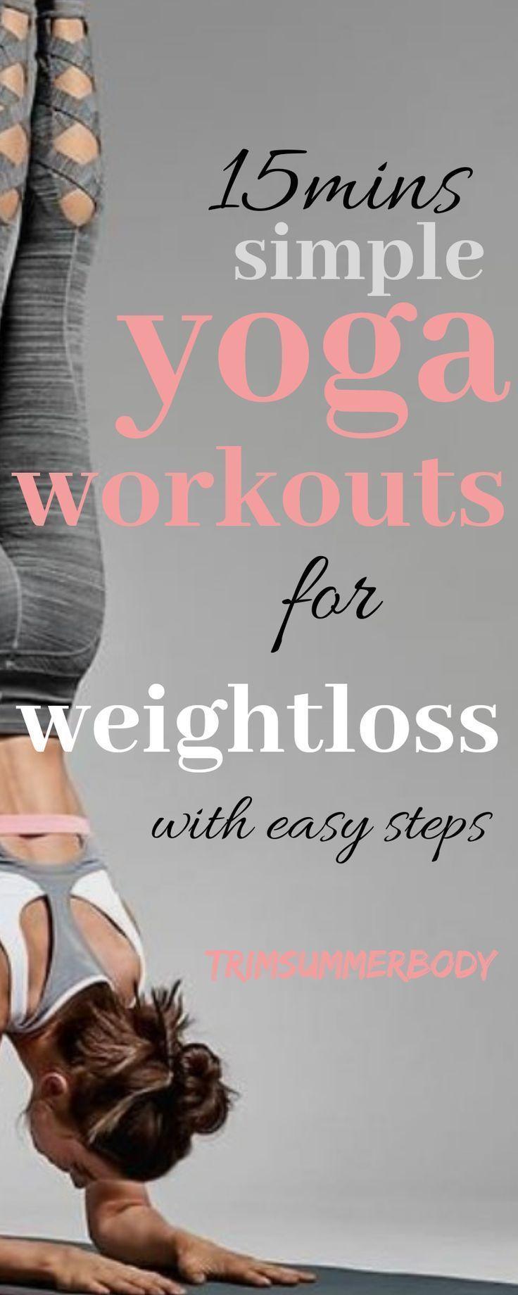 Photo of Gewichtsverlust Yoga für Anfänger, 15 Minuten leichtes Training.   #Anfänger #diettipsforbegi…